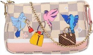 36710 Louis Vuitton Pochette Accessoires Mini Damier Azur Canvas Tasche, Clutch