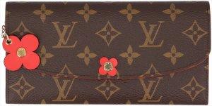 36742 Louis Vuitton Emilie Geldbörse aus Monogram Canvas mit Box