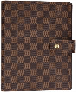 36781 Louis Vuitton Agenda Fonctionnel GM Damier Ebene Canvas Terminplaner
