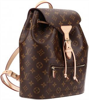 36913 Louis Vuitton Montsouris Rucksack aus Monogram Canvas mit Box