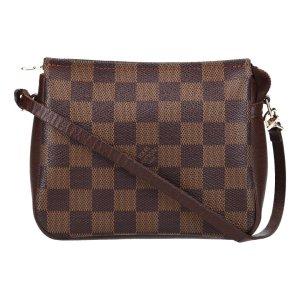 36958 Louis Vuitton Trousse Make Up Clutch, Handtasche Damier Ebene Canvas