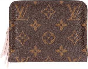Louis Vuitton Portefeuille brun foncé-doré