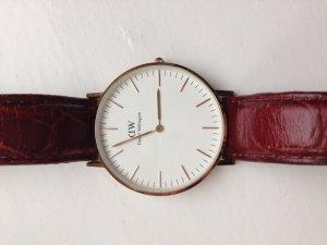 Daniel Wellington Horloge met lederen riempje veelkleurig Leer