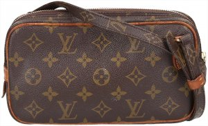 37028 Louis Vuitton Pochette Marly Bandoulière Umhängetasche aus Monogram Canvas