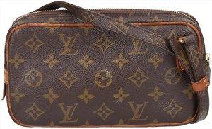 ad39576ed096e 37028 Louis Vuitton Pochette Marly Bandoulière Umhängetasche aus Monogram  Canvas