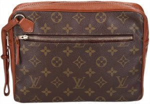37093 Louis Vuitton Pochette Sport Monogram Canvas Clutch Tasche