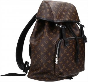 37294 Louis Vuitton Zack Rucksack aus Monogram Macassar Canvas
