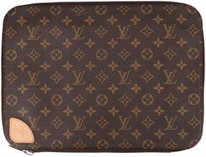 37554 Louis Vuitton Horizon Laptop Sleeve Clutch aus Monogram Canvas