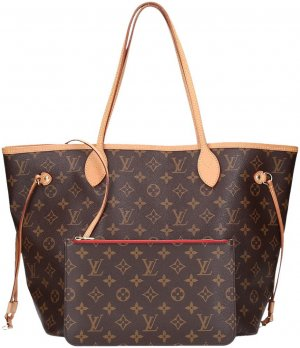 37572 Louis Vuitton Neverfull MM Monogram Canvas Handtasche  - Tasche