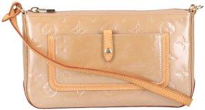 37586 Louis Vuitton Mallory Square Handtasche  - Clutch aus Monogram Vernis Leder in Noisette