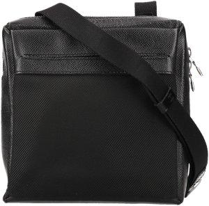 37998 Louis Vuitton Sayan Umhängetasche aus Taiga Leder in Ardoise