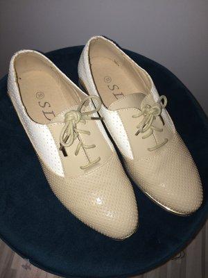 Budapest schoenen room-wit