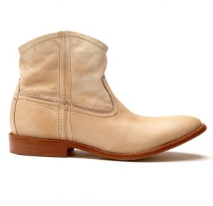 38 Leather Boot PIECES Stiefeletten LEDER Western Schuhe * NP 119,95€