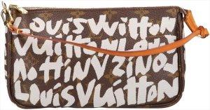 38014 Louis Vuitton Pochette Accessoires aus Monogram Graffiti Canvas Tasche, Handtasche, Clutch