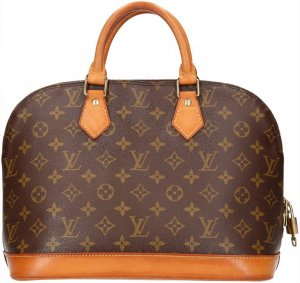 38024 Louis Vuitton Alma PM aus Monogram Canvas Tasche, Handtasche