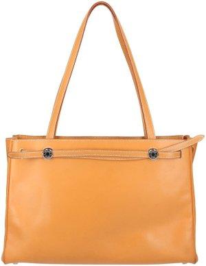 38093 Hermès Kabana Handtasche aus Leder in Braun