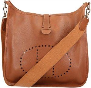38102 Hermès Evelyne I GM aus Epsom Leder in Braun Tasche, Handtasche, Schultertasche
