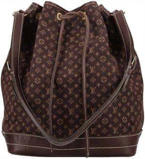 38104 Louis Vuitton Grande Noe GM Monogram Mini Line Canvas in Ebene Tasche, Handtasche, Schultertasche