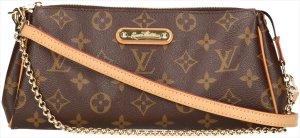 38117 Louis Vuitton Pochette Eva Monogram Canvas Tasche, Handtasche, Clutch