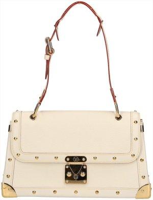 Louis Vuitton Borsetta bianco sporco-oro Pelle