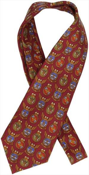 38148 Chanel CC Krawatte aus Seide mit Motiv