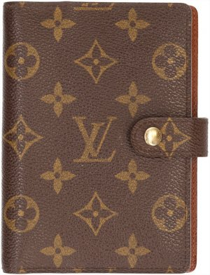 3815 Louis Vuitton Agenda Fonctionnel PM Monogram Canvas Schreibmappe