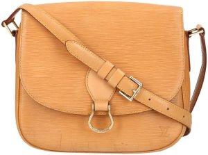 Louis Vuitton Sac bandoulière brun sable cuir