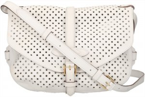 Louis Vuitton Sac à main blanc cuir
