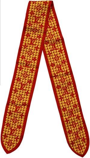 38207 Louis Vuitton Monogram Bandeau aus Seide Tuch, Schal