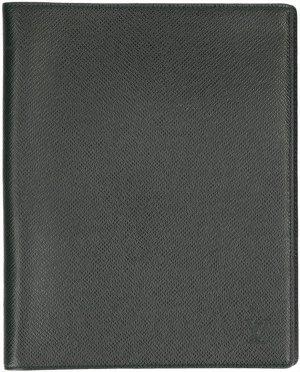38216 Louis Vuitton Couverture Bloc Schreibmappe aus Taiga Leder in Epicea Grün