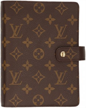 38225 Louis Vuitton Agenda Fonctionnel MM Monogram Canvas Schreibmappe