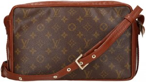 Louis Vuitton Borsetta marrone scuro-marrone