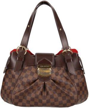 38255 Louis Vuitton Sistina aus Damier Ebene Canvas Tasche, Handtasche, Schultertasche