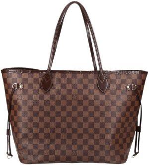 38272 Louis Vuitton Neverfull MM aus Damier Ebene Canvas Tasche, Handtasche