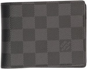 Louis Vuitton Portefeuille gris anthracite