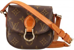 38305 Louis Vuitton Saint Cloud Mini Monogram Canvas Tasche, Handtasche, Umhängetasche