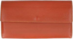 38321 Louis Vuitton Geldbörse Brieftasche aus Nomade Leder in Caramel