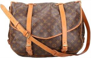 38331 Louis Vuitton Saumur 40 Monogram Canvas Tasche, Handtasche, Umhängetasche