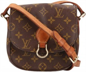 38339 Louis Vuitton Saint Cloud PM Monogram Canvas Tasche, Handtasche, Umhängetasche