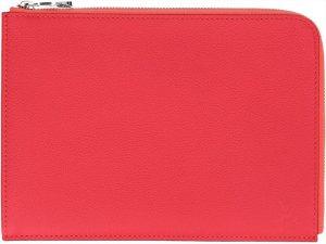 38345 Louis Vuitton Pochette Jour Clutch, Tasche, Handtasche aus Leder in Rot