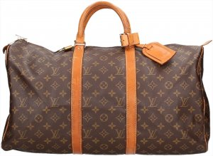 38386 Louis Vuitton Keepall 50 Monogram Canvas Reisetasche Weekender Tasche