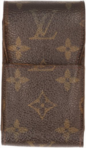 Louis Vuitton Minibolso marrón oscuro-marrón