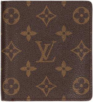 Louis Vuitton Portefeuille brun foncé-brun