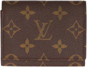 38395 Louis Vuitton Visitenkartenetui Enveloppe Cartes de Visite, Kartenetui aus Monogram Canvas