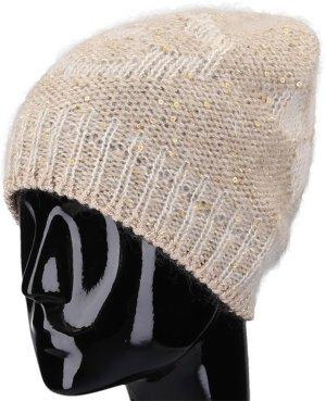 38641 Louis Vuitton Monogram Glitter Bonnet Mütze aus weichem Mohair-Mix