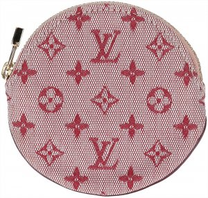 38720 Louis Vuitton Portemonnaie - Geldbörse Rond aus Monogram Mini Lin Canvas