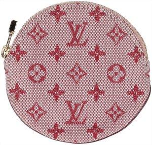 38720 Louis Vuitton Portemonnaie - Geldbörse Rond aus Monogram Mini Lin Canvas