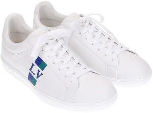 38843 Louis Vuitton Luxembourg Sneaker in Weiss Größe 40