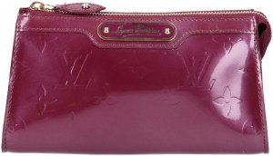 38941 Louis Vuitton Trousse Cosmétique Clutch aus Monogram Vernis Leder in Violette