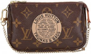 38970 Louis Vuitton Mini Pochette Monogram Canvas Tasche, Clutch